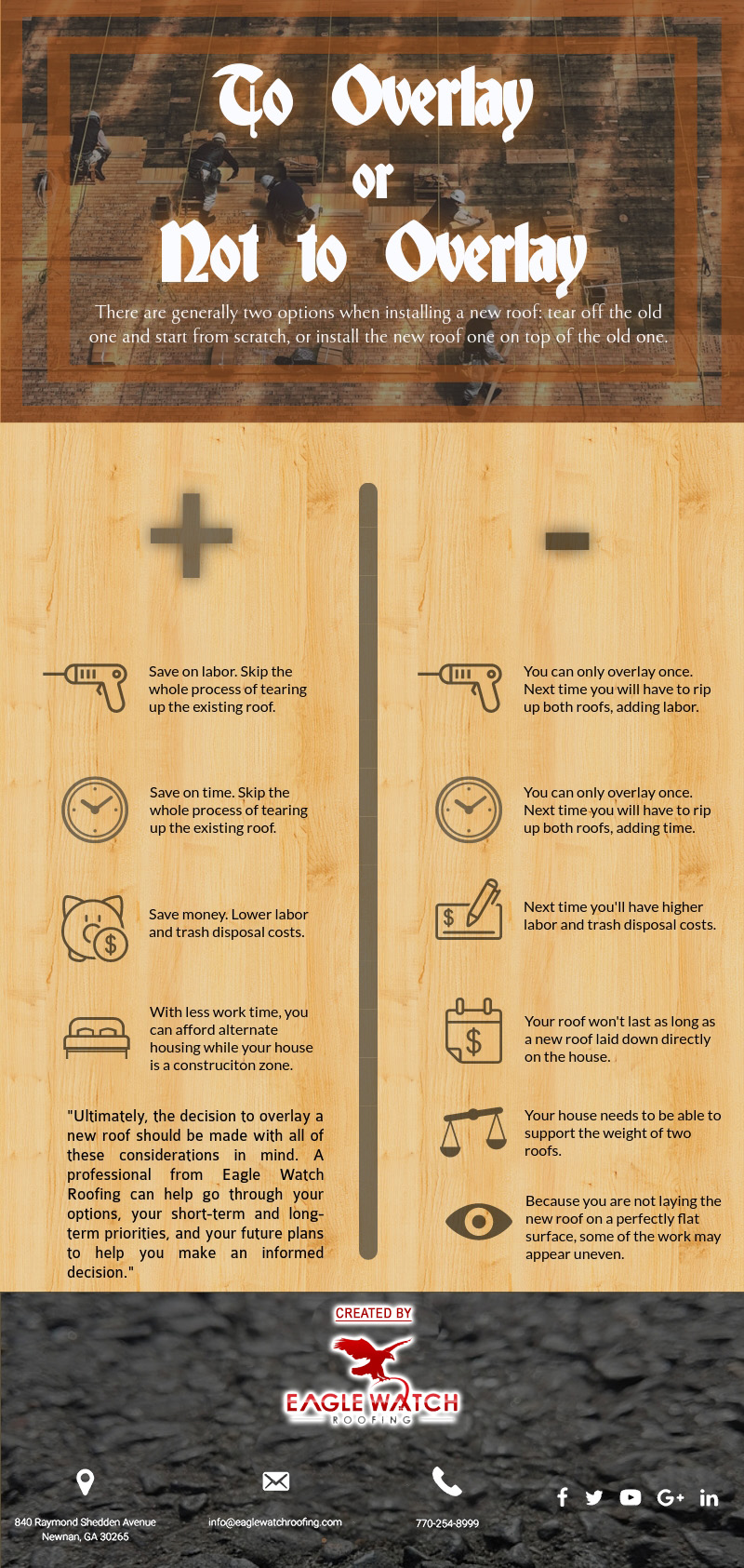 Does It Make Sense to Overlay a New Roof [infographic]