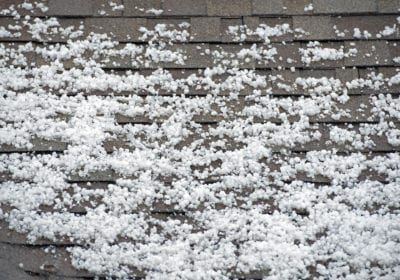 Can Hail Damage My Roof