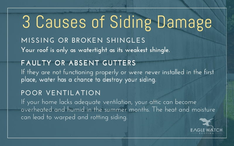 Can a Faulty Roof Damage Your Siding [infographic]