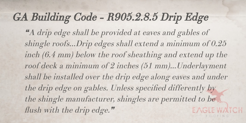 Why You Need a Drip Edge for Your Roof [infographic]